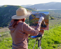 Art on the Landmarks: Painting the Red Rocks